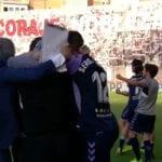 El gol de Sergi Guardiola le da la permanencia al Valladolid en Primera División