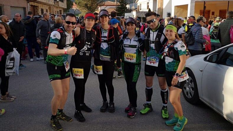 El grupo de senderismo Como Chotas Trail de Hinneni tuvo a varios corredores en el evento deportivo