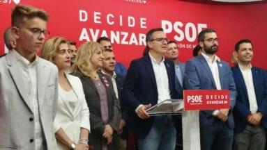 El PSOE vence en las regionales de Murcia por primera vez