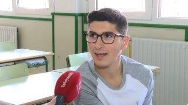 Enrique García Rodríguez, alumno participante en el proyecto del Cruz de Piedra