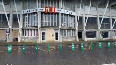 Exteriores del Stadium Gal de Irún