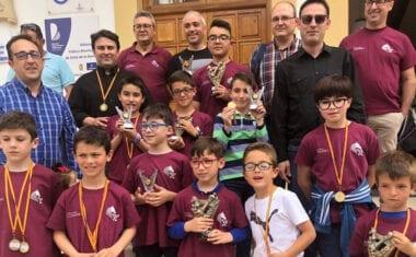 El Club Ajedrez Coimbra se lleva la victoria en el I Torneo Familiar Sierra del Segura