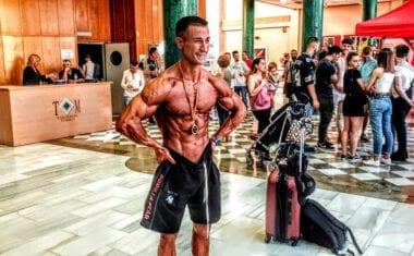 El culturista jumillano José Antonio Hernández competirá en el Campeonato del Mundo