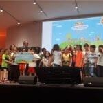 Primer Premio del concurso de Cuentos Ilustrados Consum para los alumnos de 3ºB del CEIP Miguel Hernández