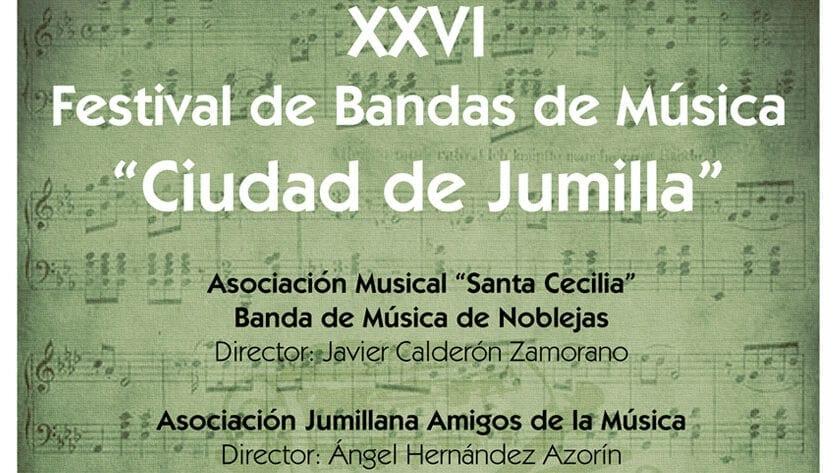 """XXVI Festival de Bandas de Música """"Ciudad de Jumilla"""""""