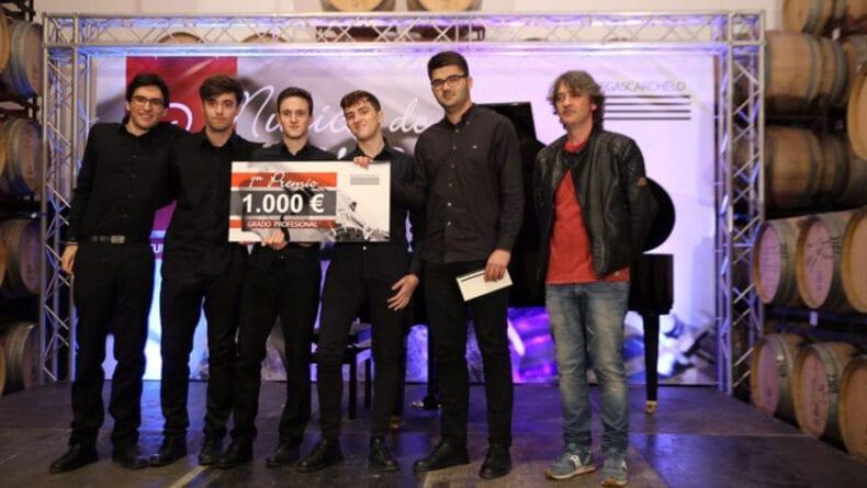 Vencedores del Grado Profesional 'Quinteto Spirito'
