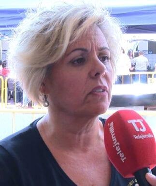 Carmen Herrera, presidenta Hermandad Santísima Virgen de la Soledad