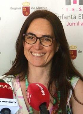 Eva Martínez, Directora del IES Infanta Elena