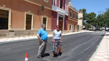 Obras finalizadas en calle San Antón