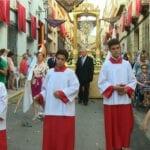 Un año más la Procesión del Corpus Christi sale a la calle