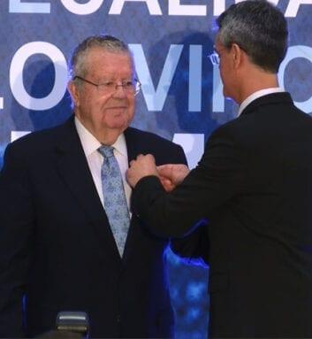 Salvador Moreno Pérez, Presidente de Honor 2019
