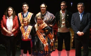Relevo de los Vendimiadores Mayores e Infantiles de la Fiesta de la Vendimia de Jumilla