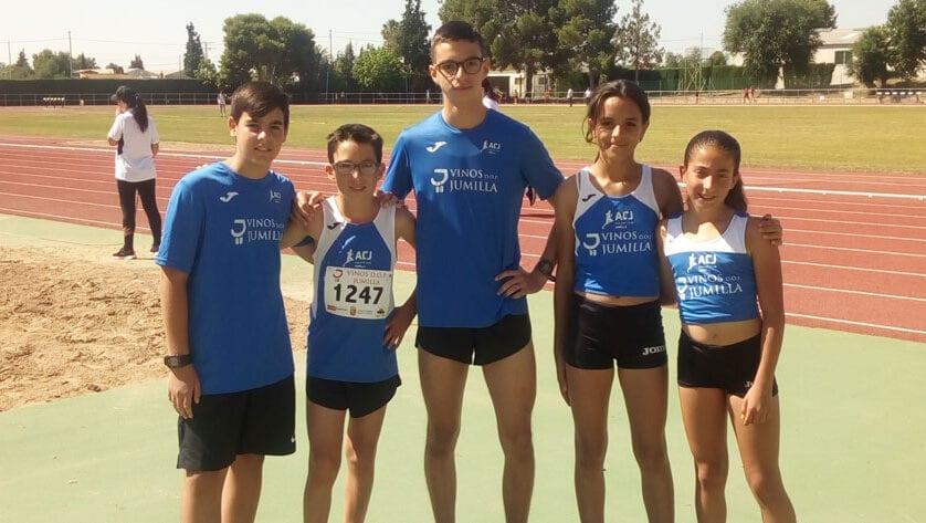 Buena actuación de los sub-14 y sub-16 del Atheltic Club Jumilla en el Campeonato Regional