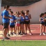 El XVIII Torneo Local de Atletismo Base reunió a casi un centenar de pequeños atletas