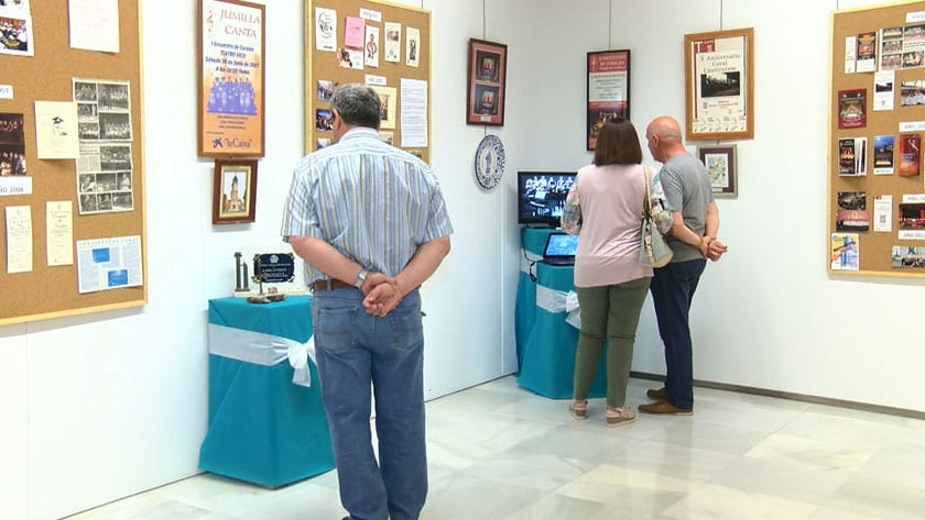 Exposición por el 20 aniversario de la Coral Canticorum de Jumilla