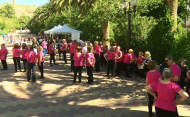 Auropilates bailó a beneficio de AFAD