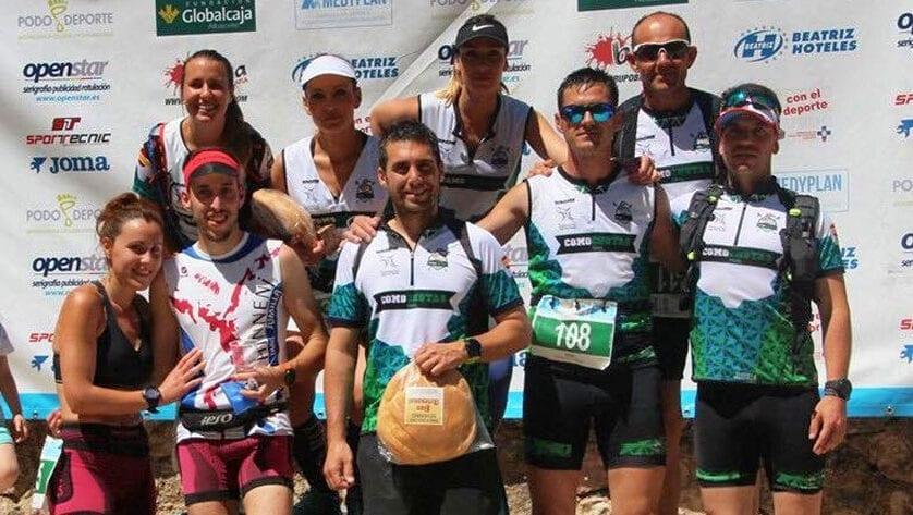 Victoria y varios puestos de podio para Hinneni Trail Running en la III Trail Villaverde de Guadalimar