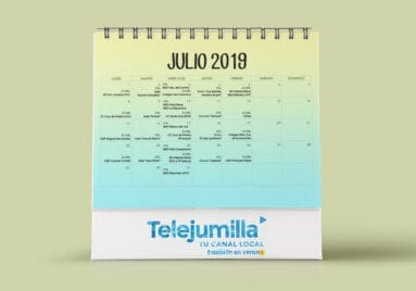 Calendario emisiones julio 2019 telejumilla