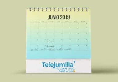 Calendario emisiones junio 2019 telejumilla