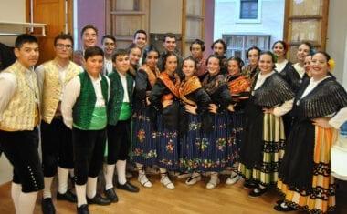El grupo de Coros y Danzas Francisco Salzillo de Jumilla participó en dos festivales