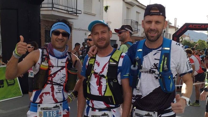 Los tres corredores de Hinneni en la quinta jornada de la Copa de España