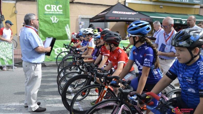 Nueva cita del calendario de Escuelas de Ciclismo, esta vez en Churra Murcia