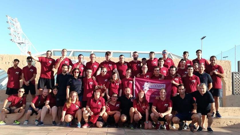 Seis deportistas de Aspajunide han estado en el Campeonato de España de Selecciones Autonómicas FEDDI