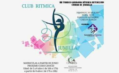 El Club Rítmica Jumilla organiza su primer Interclubs