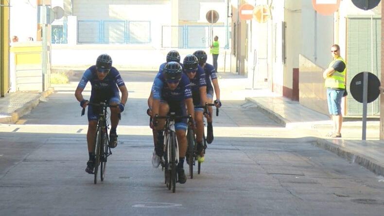 Valverde Team rompió la carrera de incio