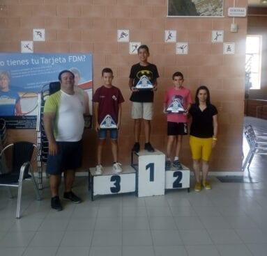 Álvaro Rico hizo podio en Villena