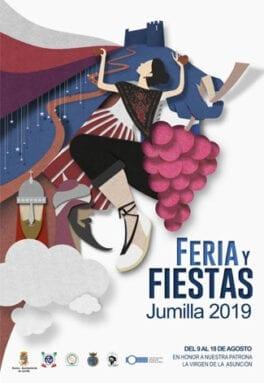 Cartel Feria y Fiestas de Jumilla 2019