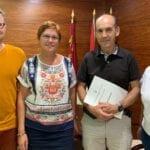 Se firma el convenio de colaboración entre la Junta Central de Hermandades de Semana Santa y el Ayuntamiento de Jumilla
