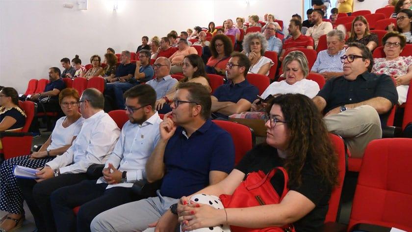 El público llenó el Auditorio del Conservatorio