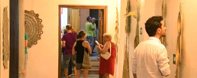 """Exposición """"Espartedeti, creación en esparto"""" en la Casa del Artesano"""