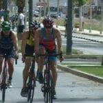 José Antonio Hoyos y Marina Martínez vencedores del 27 Triatlón Ciudad de Jumilla