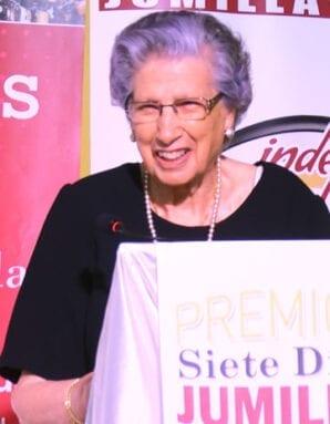 Juana González Soriano, Premio Trayectoria a Toda una Vida