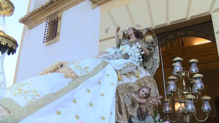 Con la Patrona en la Iglesia de El Salvador, las Fiestas de Agosto se encuentran a la vuelta de la esquina