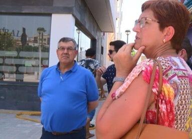 La alcaldesa de Jumilla y el concejal de Servicios han acudido al lugar del siniestro