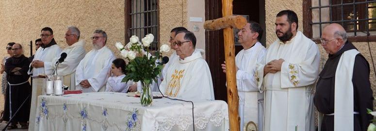 La comunidad franciscana honra a la Abuela Santa Ana