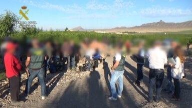 La operación se ha saldado con una treintena de detenidos
