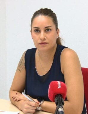 Lola Gómez, concejala de Juventud