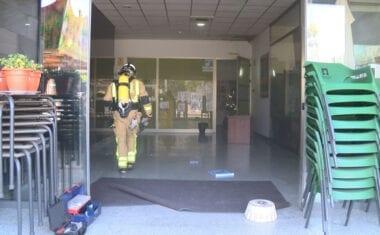Alarma en el Roque Baños por un pequeño incendio en la cocina de la Cafetería