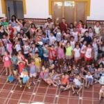 Los participantes en las Ludotecas de Verano visitan el Ayuntamiento