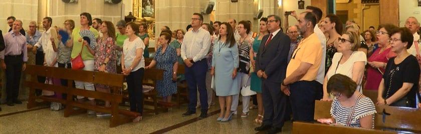 Multitud de fieles acompañaron a la Virgen hasta El Salvador