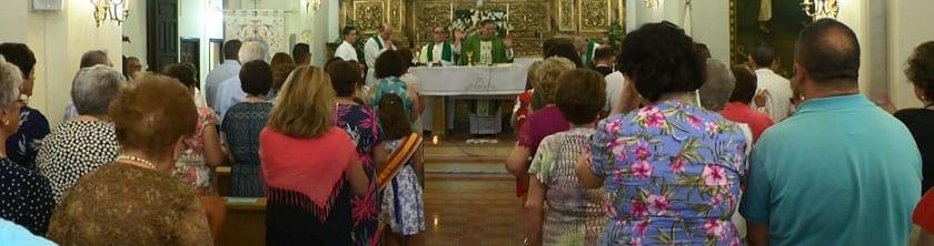 Previo al Pregón se celebró la Eucaristía