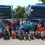 Los camiones jumillanos realizan su peculiar procesión