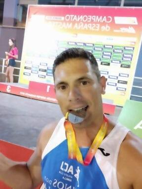 Álex Barrón suma dos medallas para el Athletic Club Vinos DOP Jumilla en el Nacional Máster