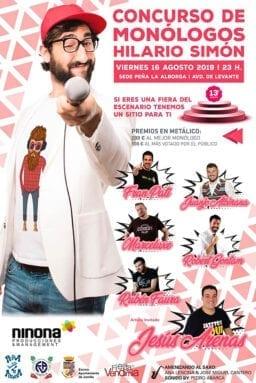 Concurso de Monólogos Hilario Simón 2019