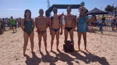 Participantes Travesía de Alicante Club Natación Jumilla