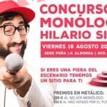 Ya se conoce el cartel del Concurso de Monólogos Hilario Simón 2019